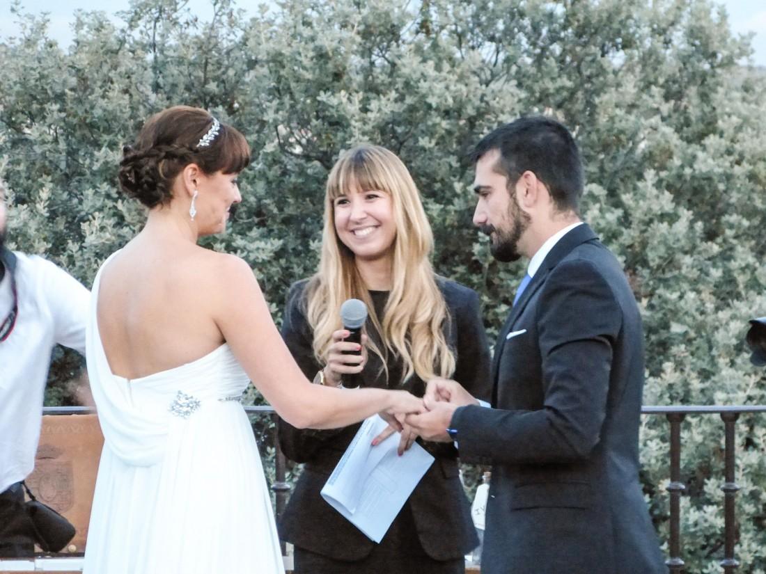 LA CEREMONIA DE IVÁN Y ROSA A LOS PIES DEL ATAZAR