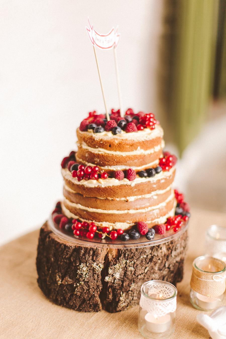 joice y carlos, tarta