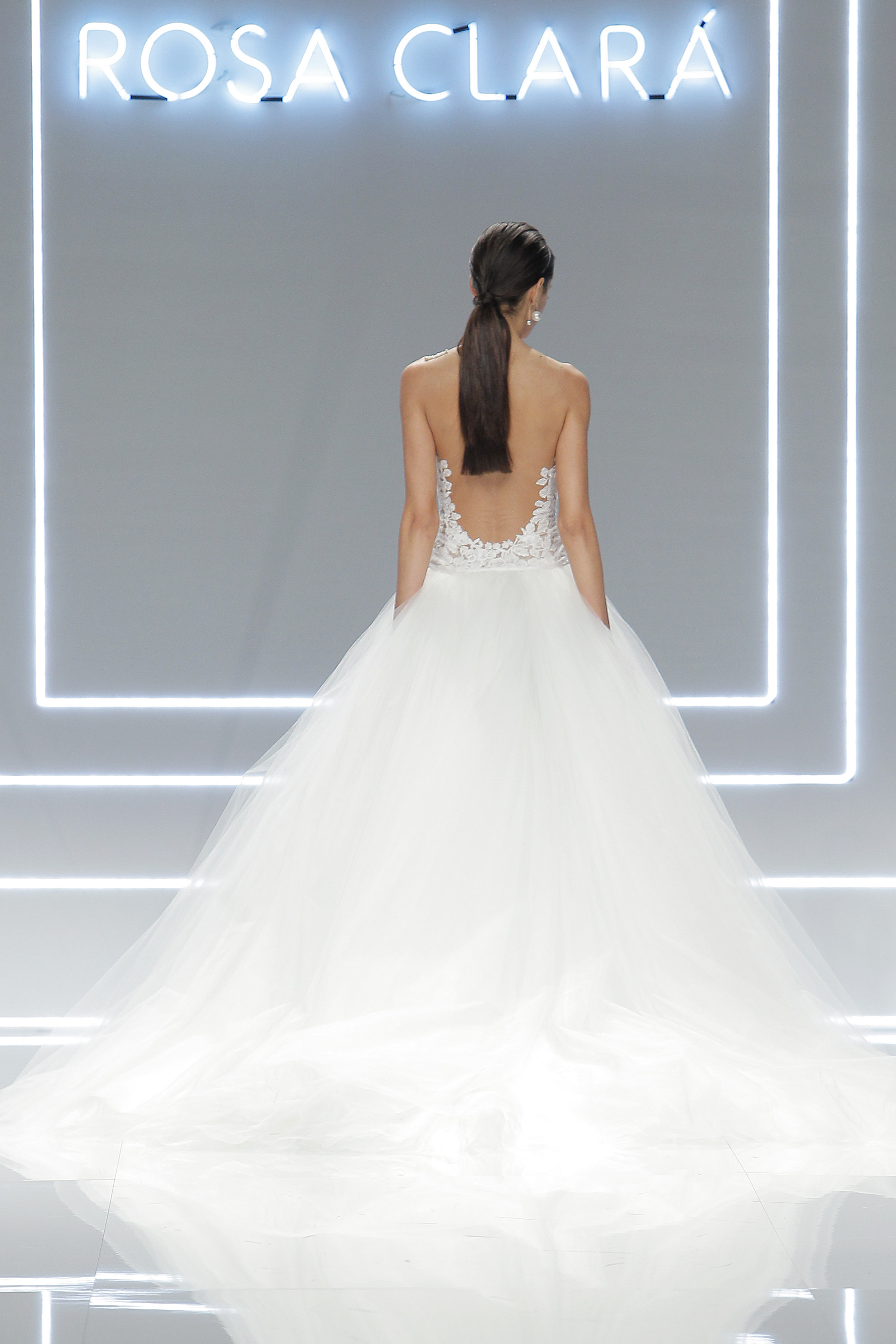 Rosa Clará en la Barcelona Bridal Week - Lalablu