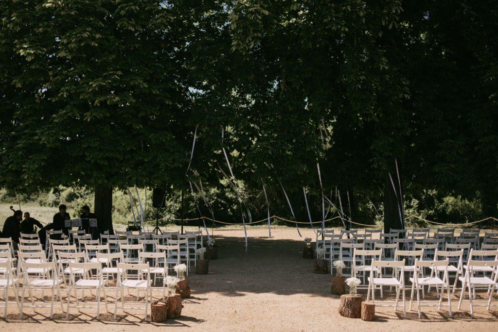 Diseño y decoración de ceremonia