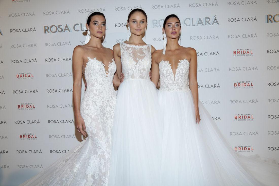 ROSA CLARÁ EN LA BARCELONA BRIDAL WEEK 2017