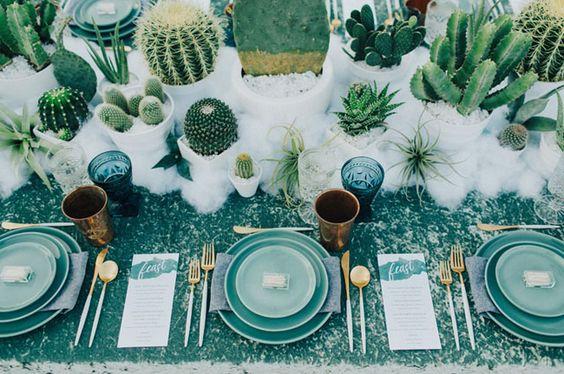 boda con cactus