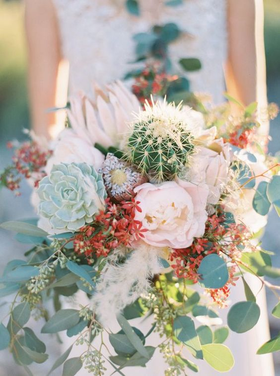 bodas con cactus