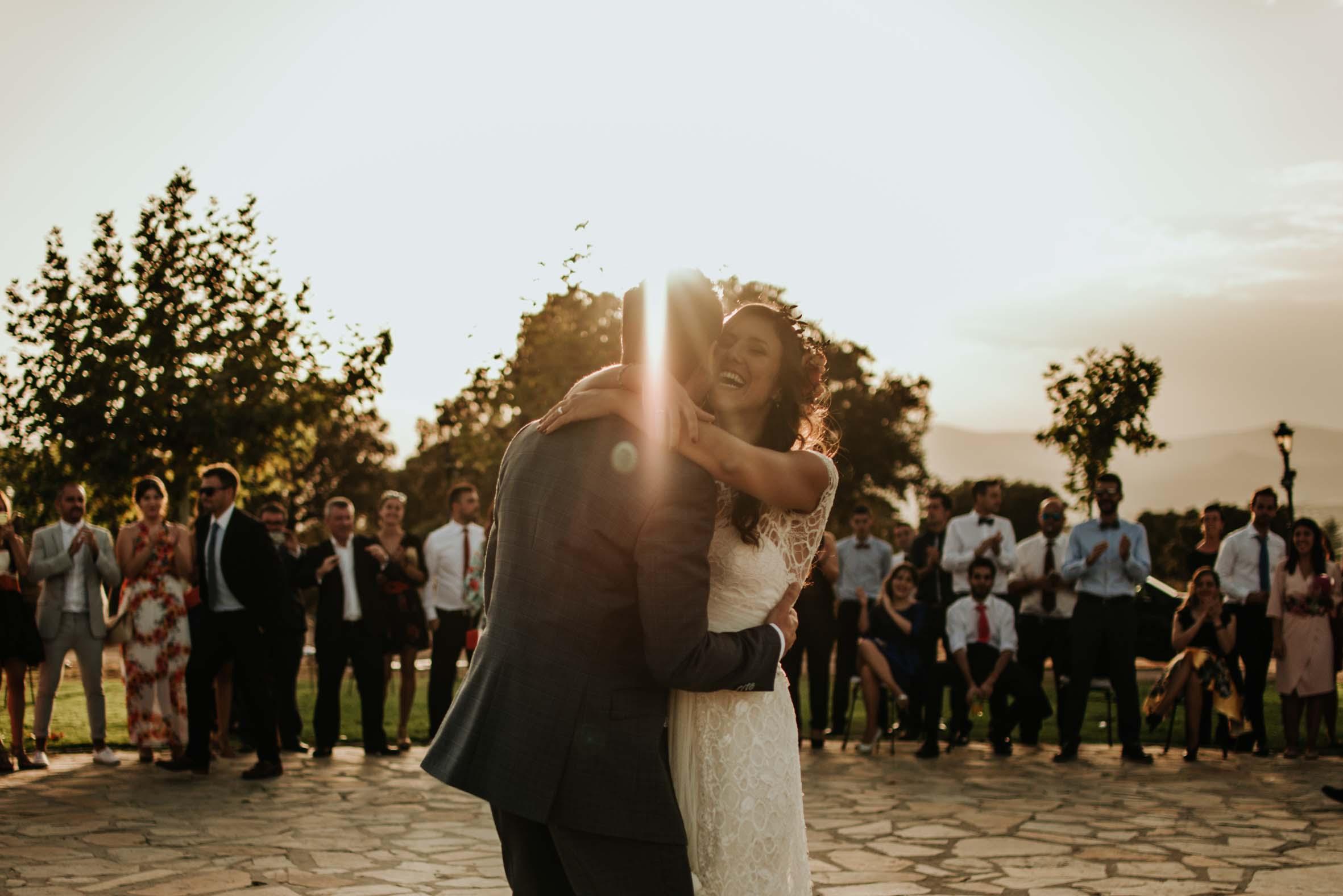 La boda boho de Noemí y Javier - Lalablu