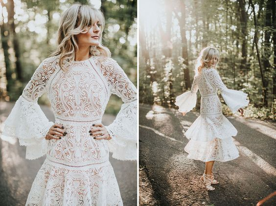 Segundos vestidos de novia