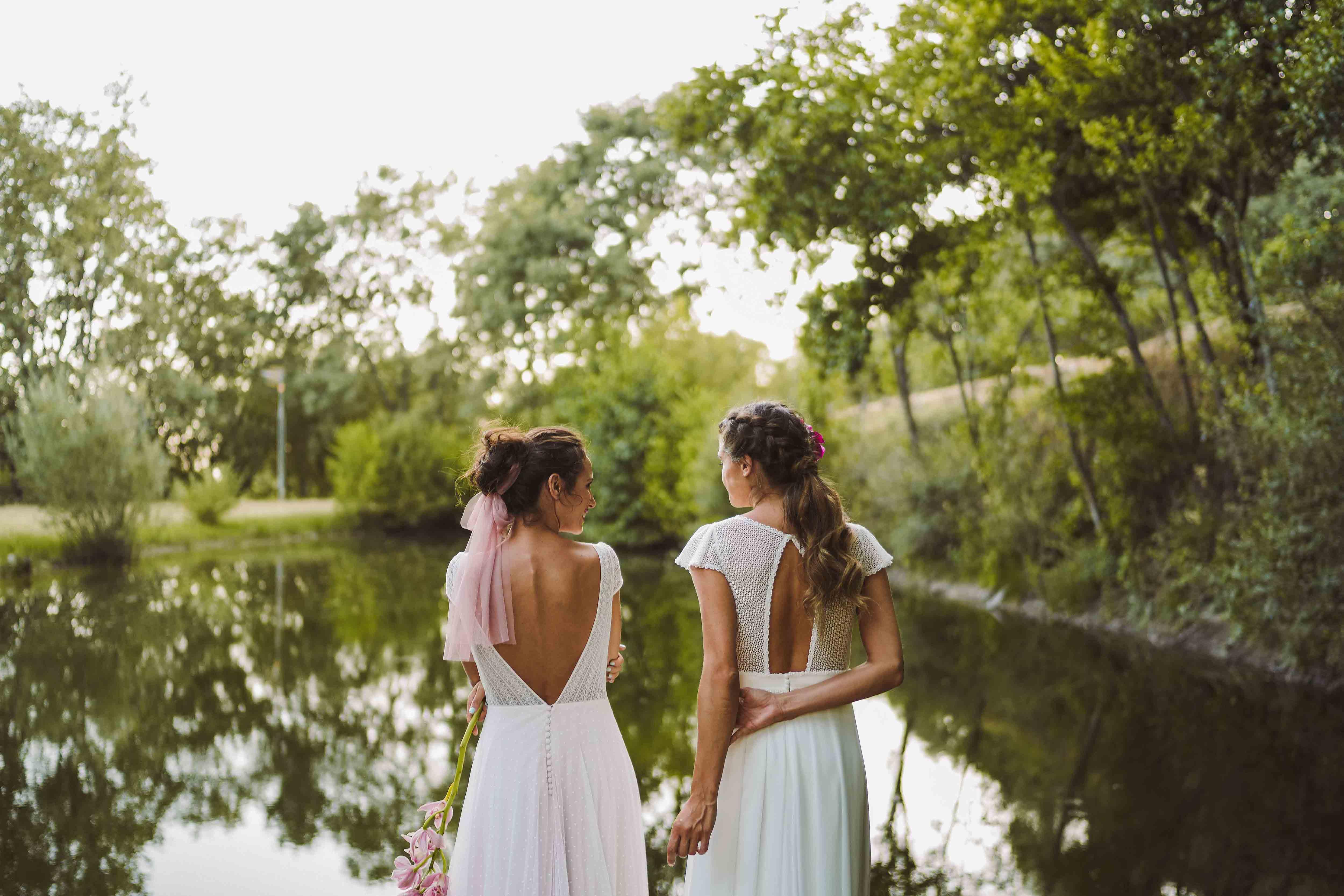 novias lago