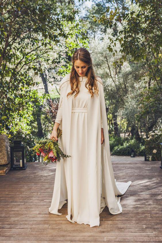 novia con vestido de alejandro valero